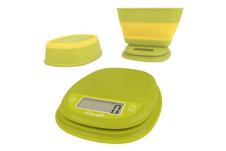Lime Digital Scale w/ Bowl, 1.5 Qt