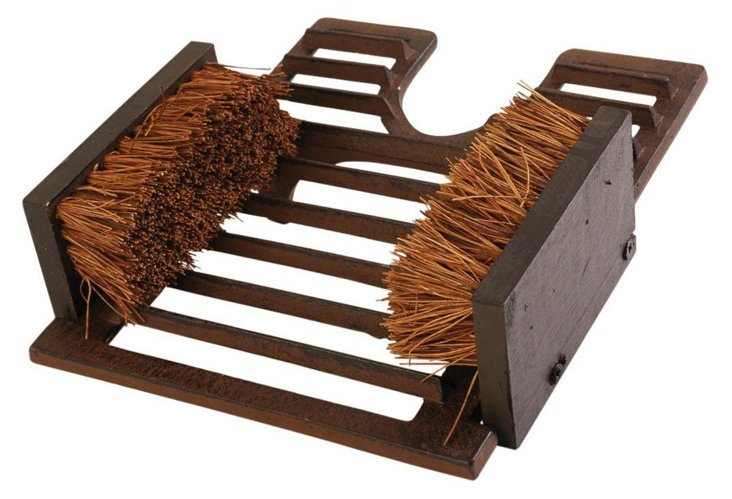"""11"""" Cast Iron Boot Pull & Brushes"""