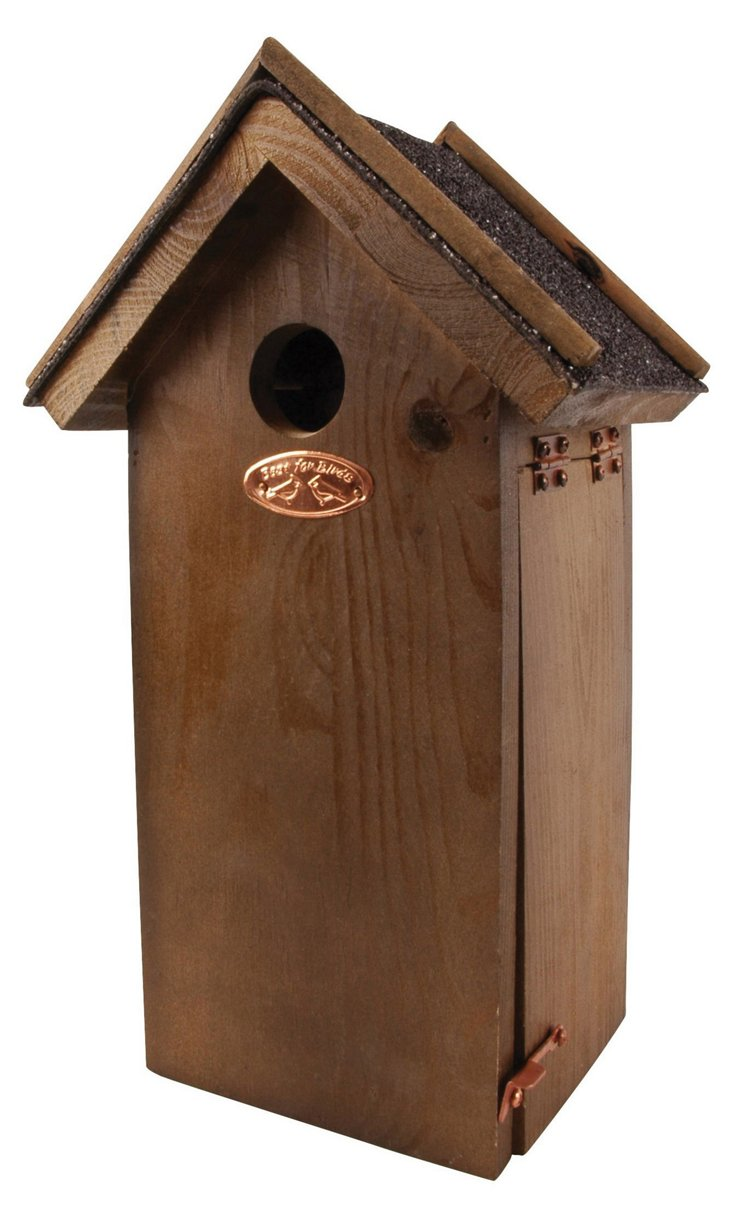"12"" Pinewood Birdhouse"