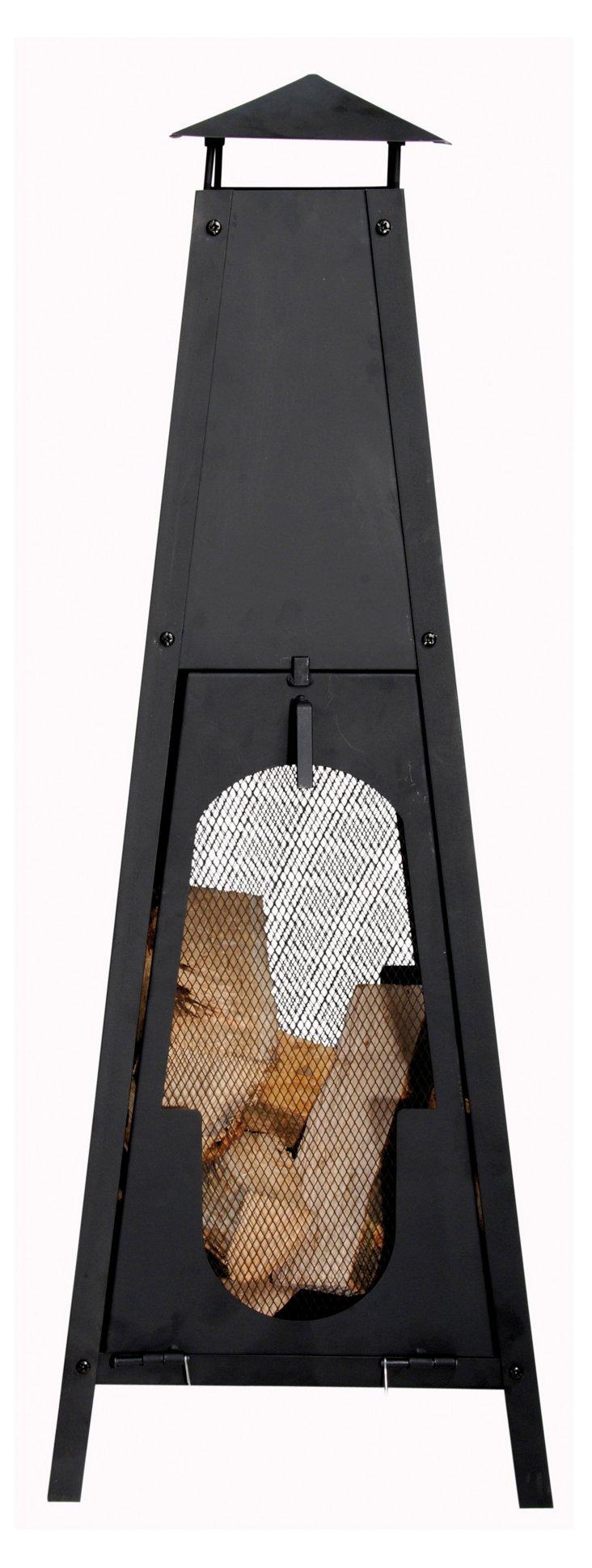 "41"" Obelisk Terrace Heater, Black"
