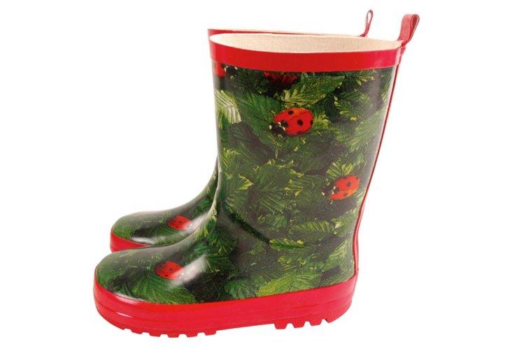 Child Ladybug Boots