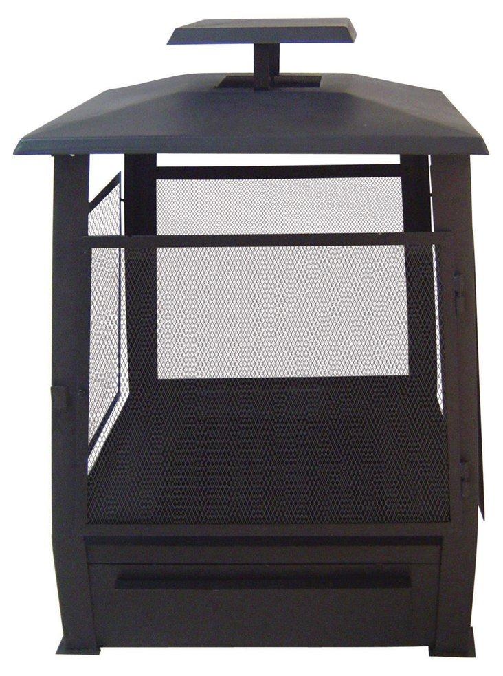 "23"" Pagoda-Style Terrace Heater, Black"