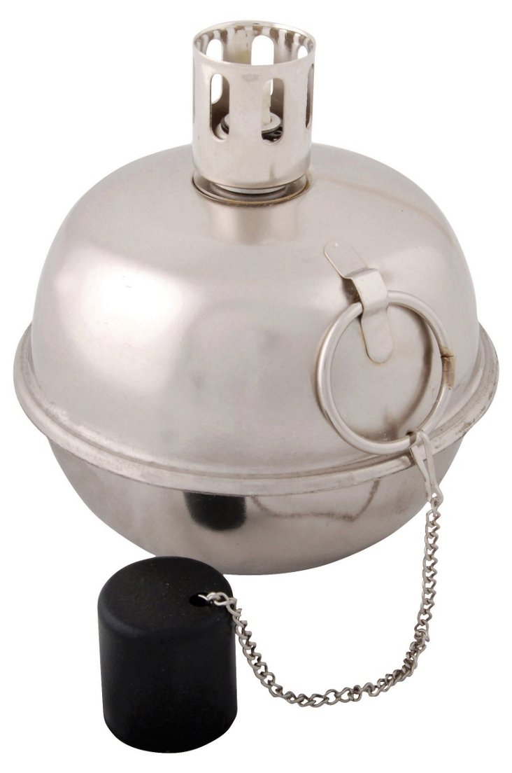 """8"""" Tumble Torch, Silver"""