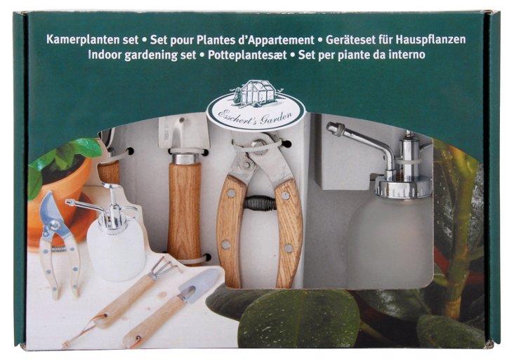 4-Pc Indoor Gardening Set