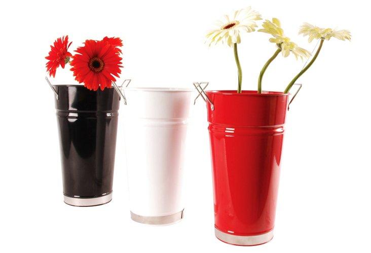 S/3 Vases w/ Handles