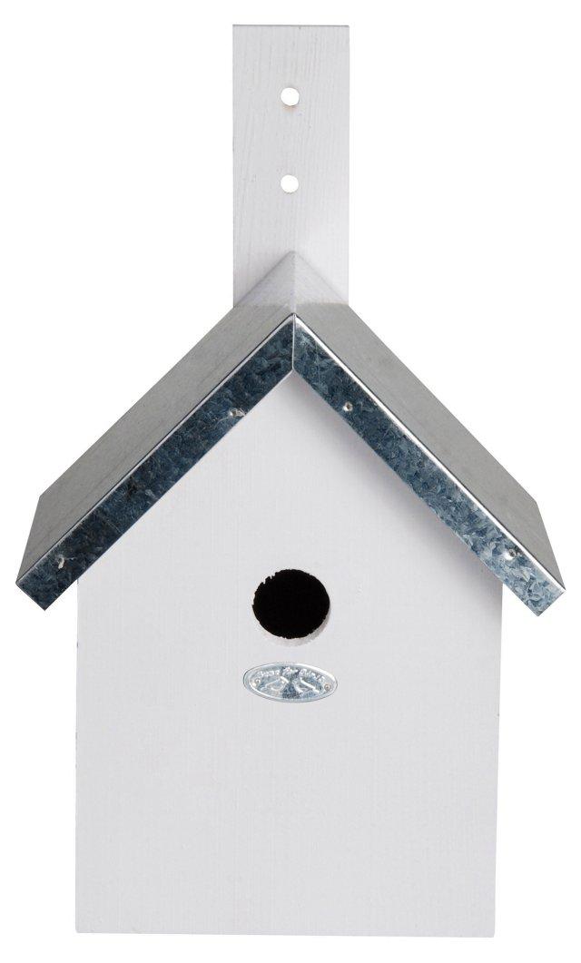 """12"""" Northern Nesting Box, White"""