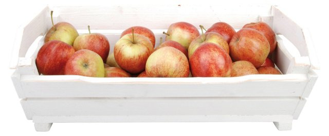 Harvest Crate, White