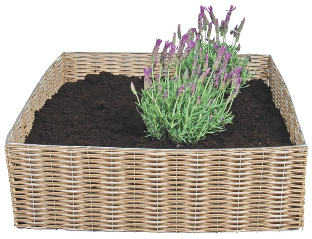 "23"" Foldable Garden Basket, Brown"