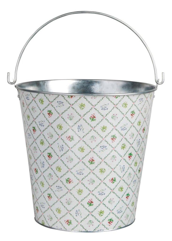 """12"""" Bucket, White"""
