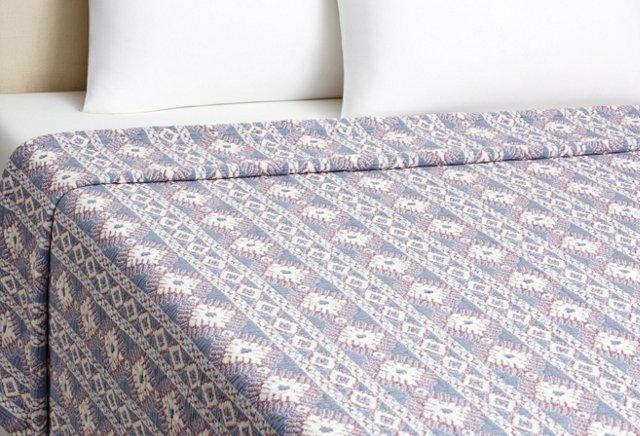 Queen Tribal Blanket, Multi