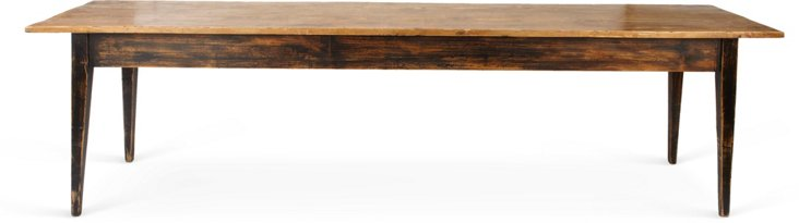 Antique Spanish Long Dining Table