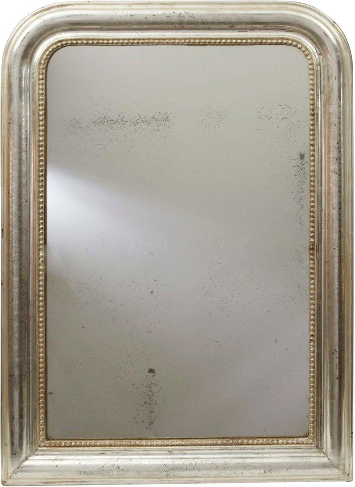 Antique Louis Philippe Mirror, Small II