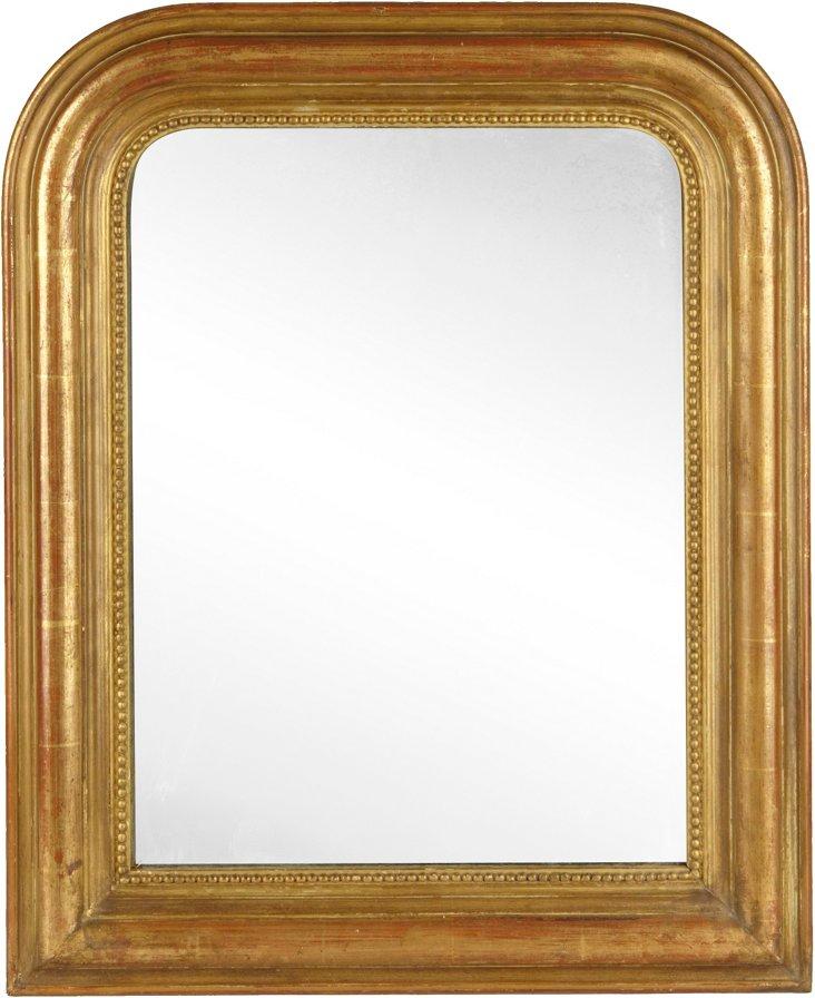 Antique Gold Louis Philippe Mirror II