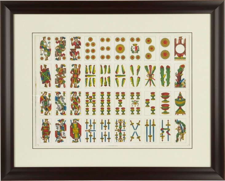 Framed Playing Cards II