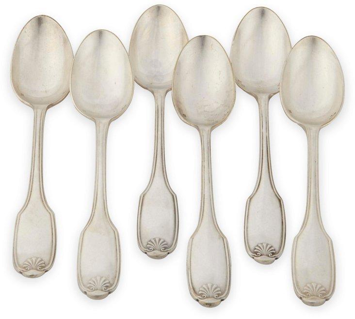 Vintage Demitasse Spoons, Set of 6, II