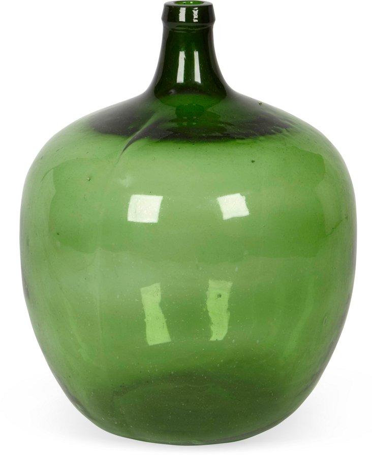 Blown Green Ballon