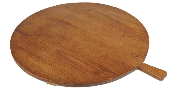 """22"""" Round European Timber Pizza Board"""
