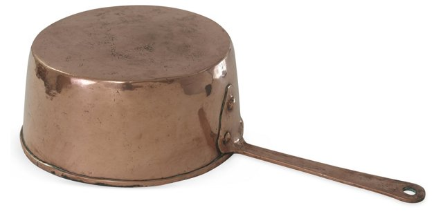 Swedish Copper Pot I