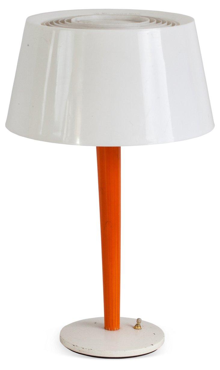 Orange Mod Lamp