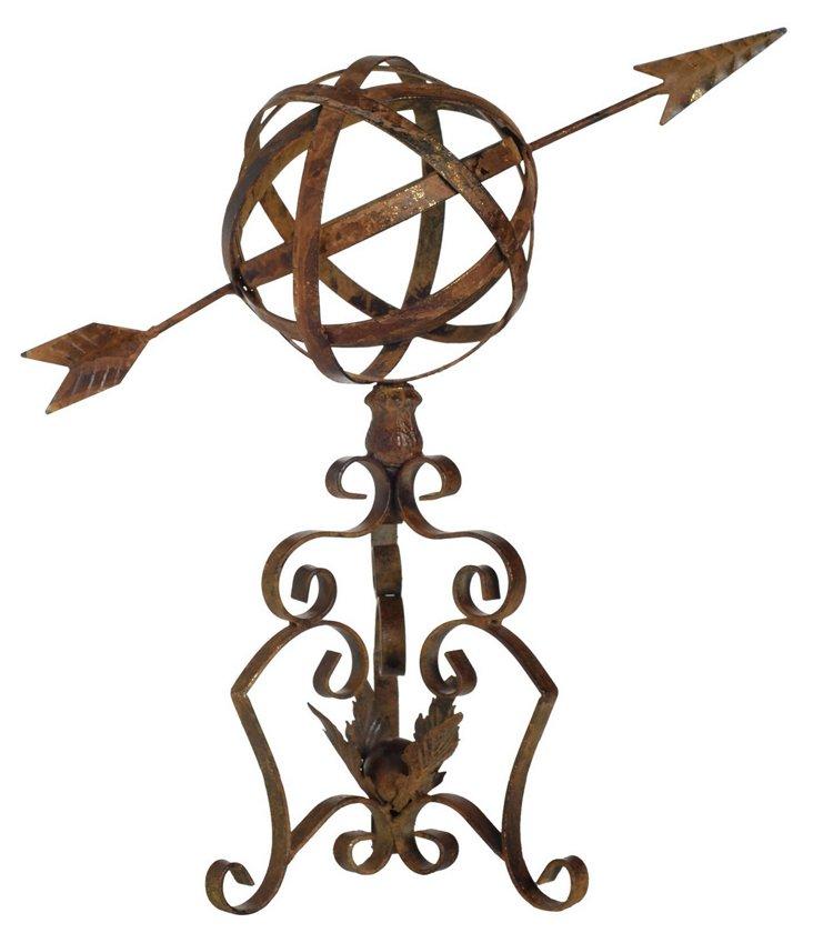 "21"" Arrow Garden Ornament, Bronze"