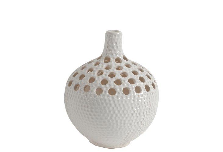 """9"""" Cut Out Vase"""