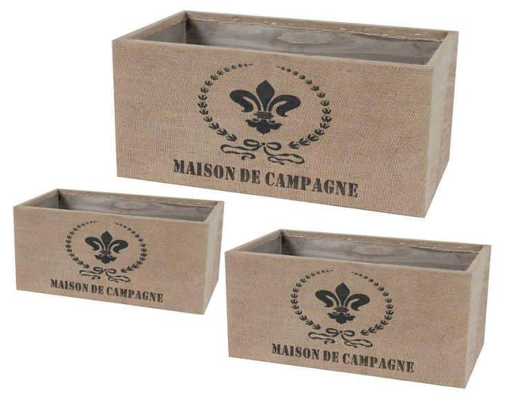 Maison Boxes, Asst. of 3