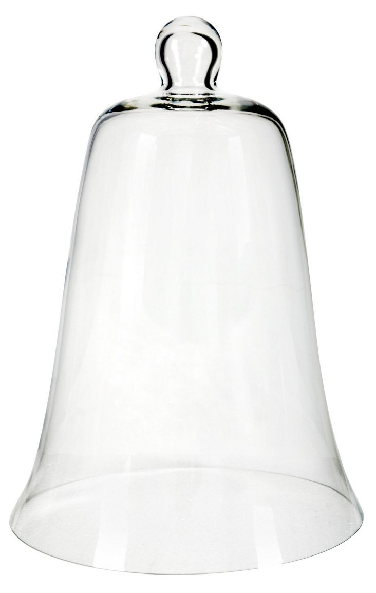 """16"""" Bell-Shape Glass Dome"""