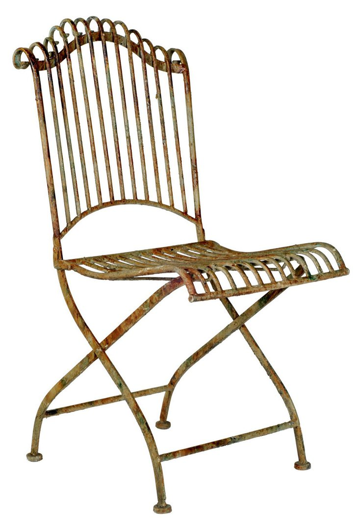 Aurore Rusted Garden Chair