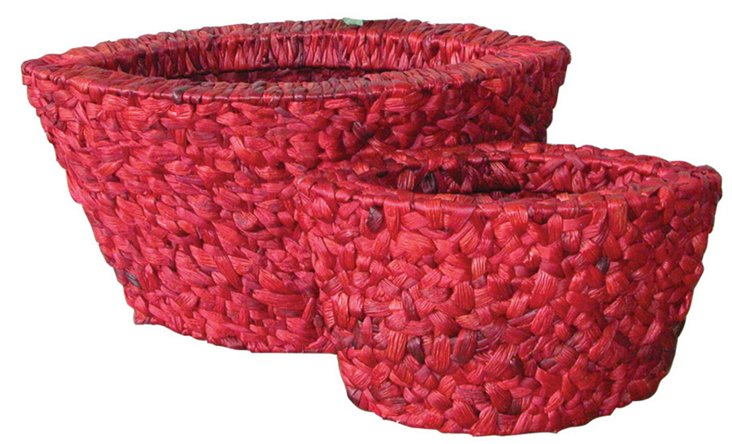 S/2 Red Willow Planters