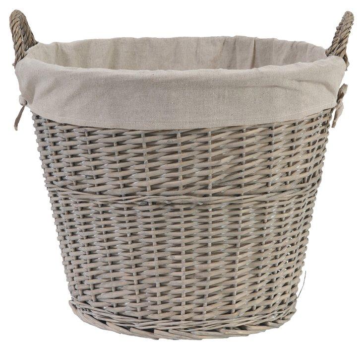 Round Basket, 19x18
