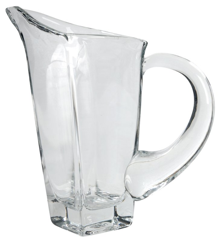 Glass Pitcher, Clear