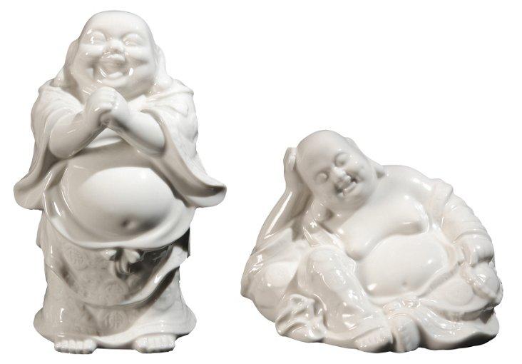 Asst. of 2 Happy Buddhas