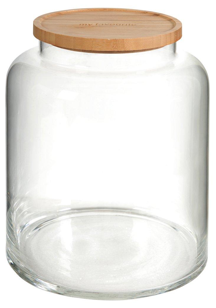 """11"""" Lidded Jar"""