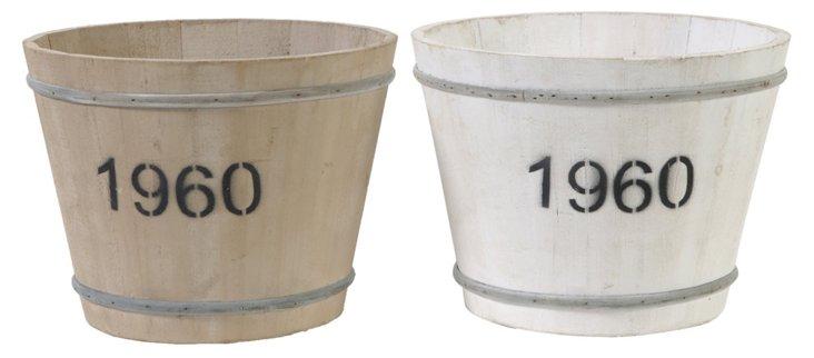 Heirloom Pots, Asst. of 2