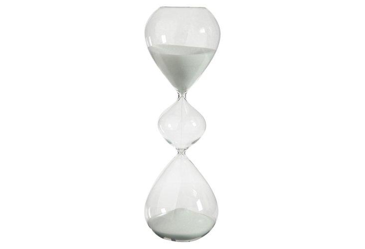 Hourglass, White
