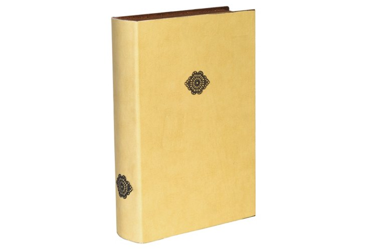 S/2 Book Boxes, Yellow