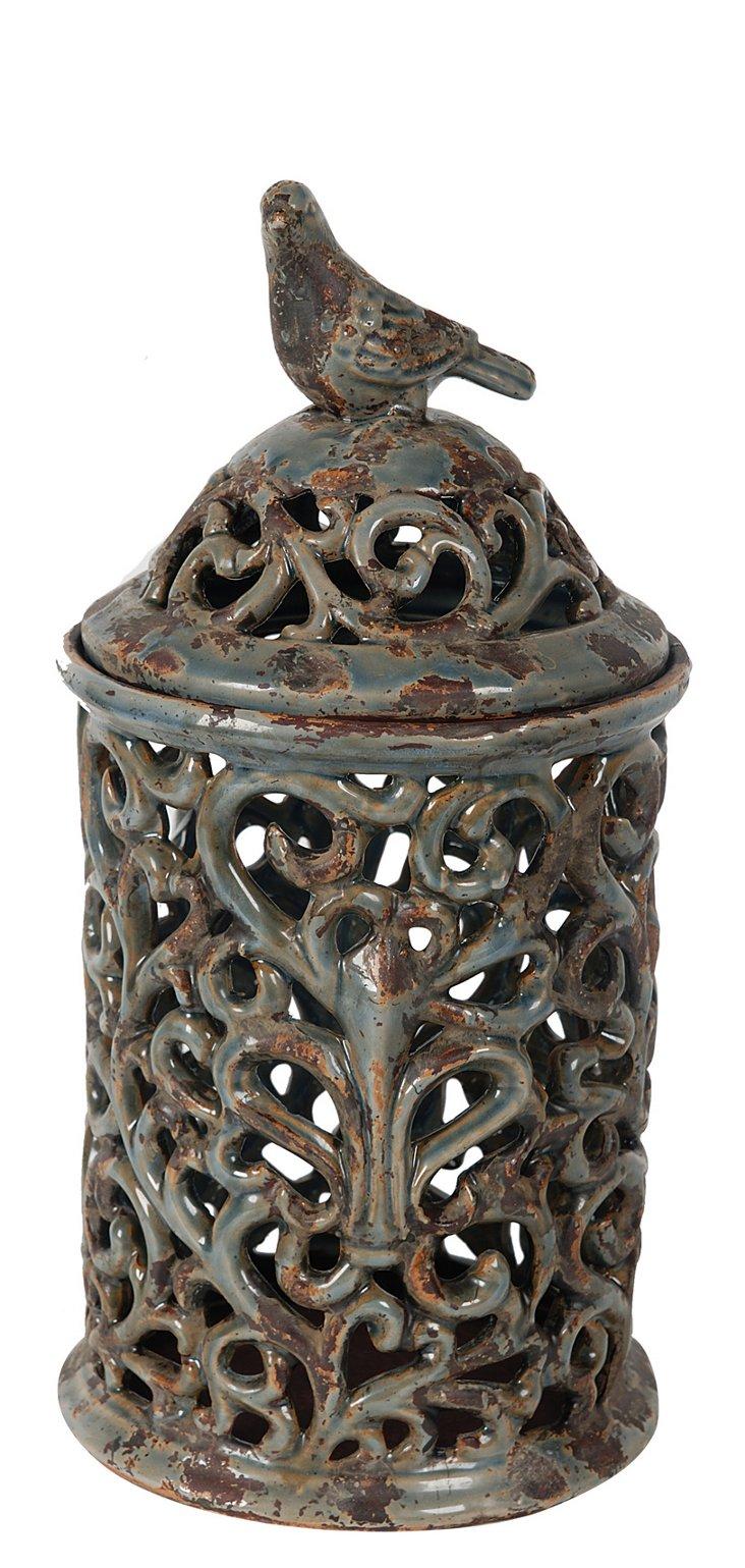 "17"" Decorative Jar"