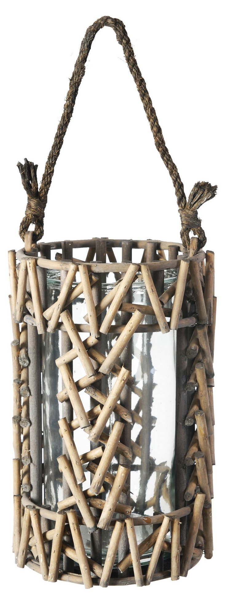 "13"" Wooden Stick Hurricane"