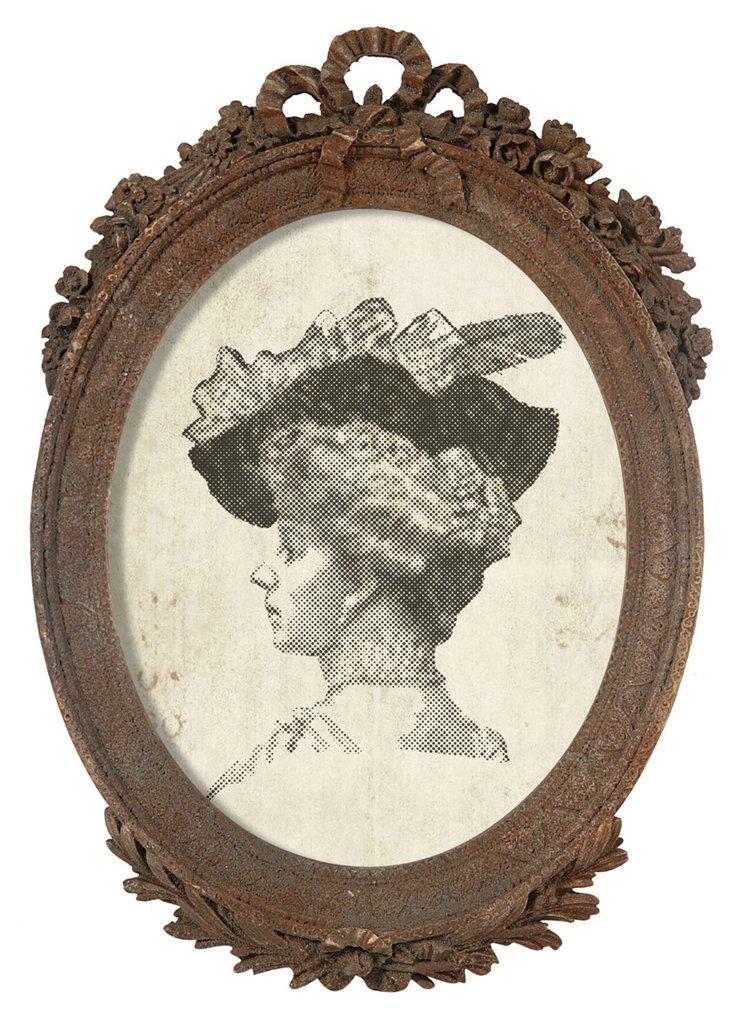Ceramic Wreath Frame, 8x10