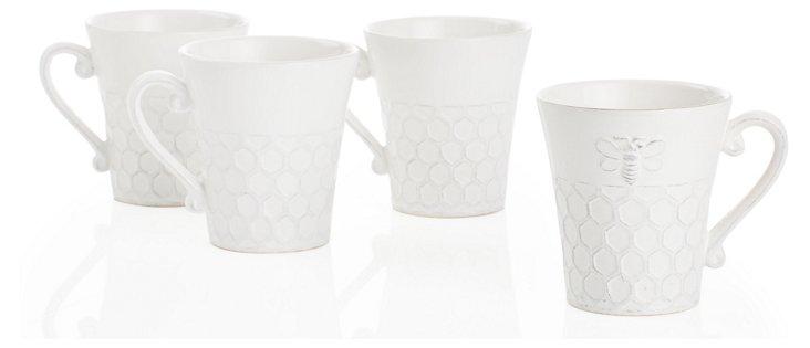 S/4 Bee Mugs