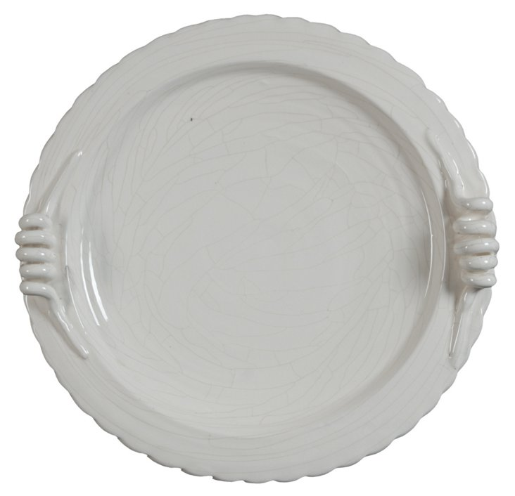 French Serving Plate