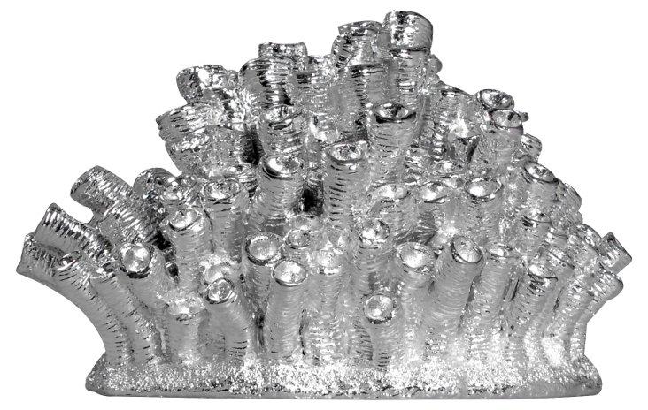 Silver Coral Objet