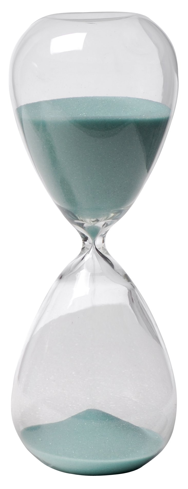Sand Hour Glass, Jade