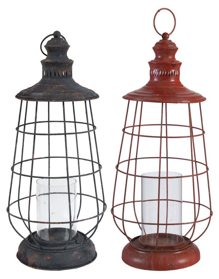 Asst. of 2 Exploration Lanterns