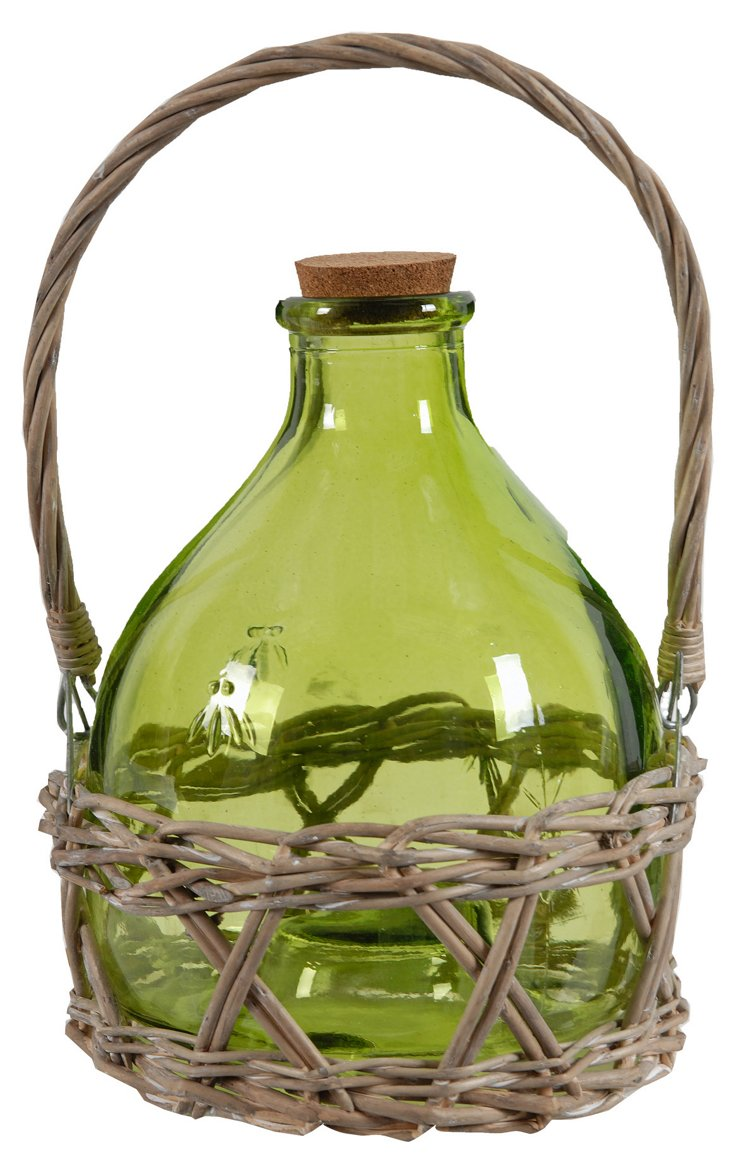Country Side Vase, Green