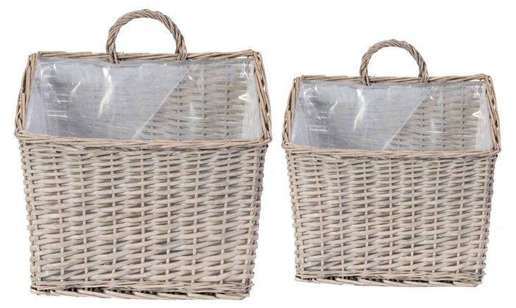 Basket Planters, Asst. of 2