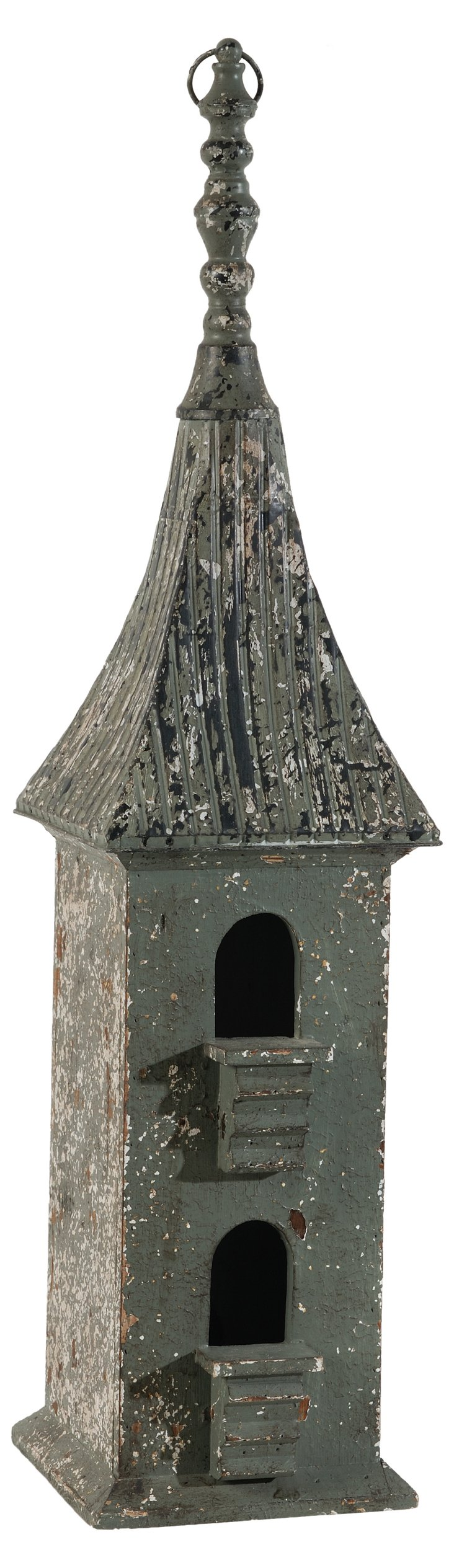 "36"" Weathered Birdhouse"