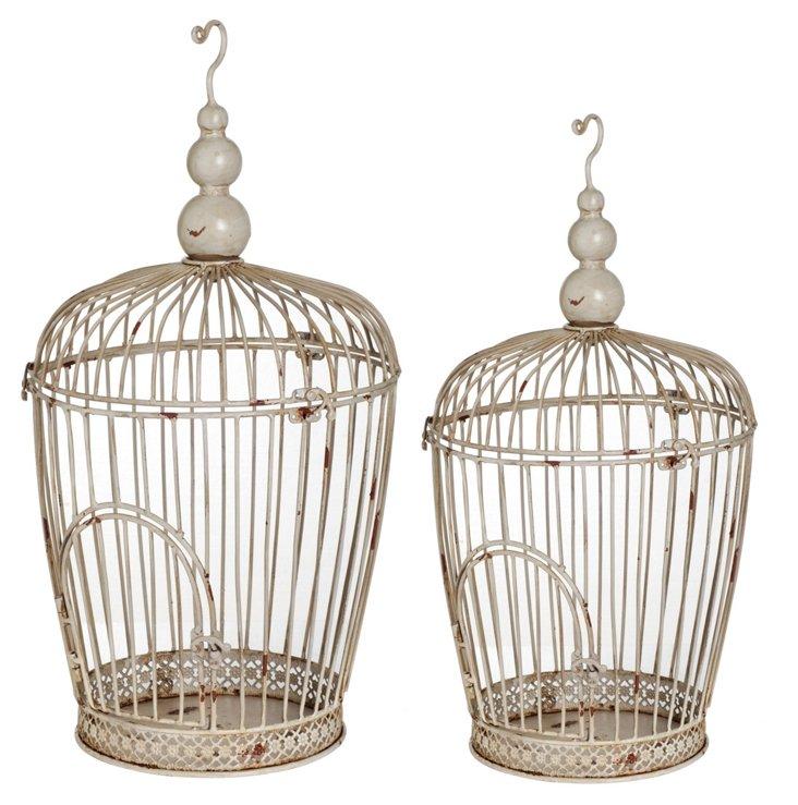 Greenwich Birdcages, Asst. of 2