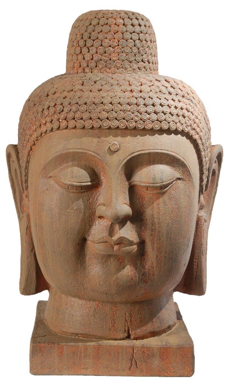"30"" Jinan Buddha Head"