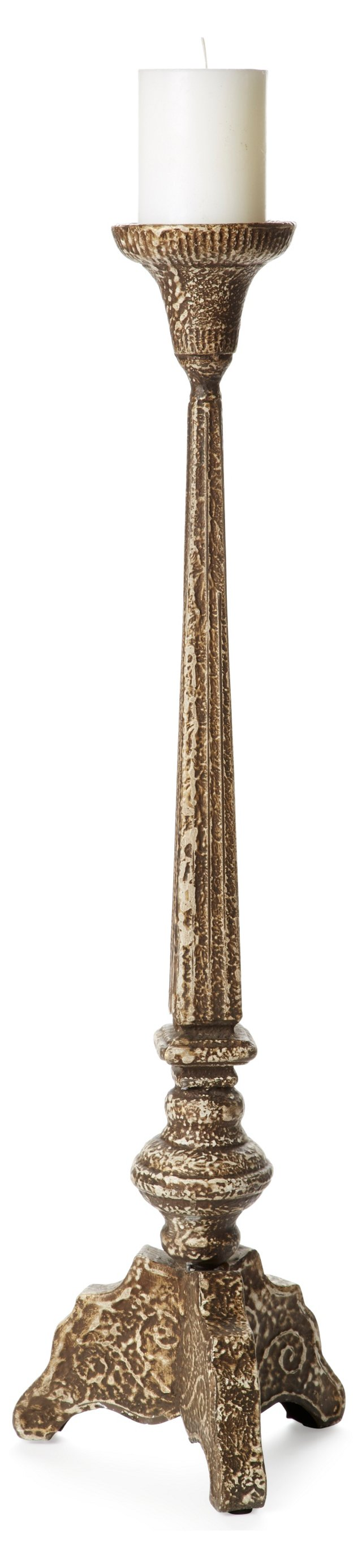 "29"" Grand Pillar Holder, Bronze"